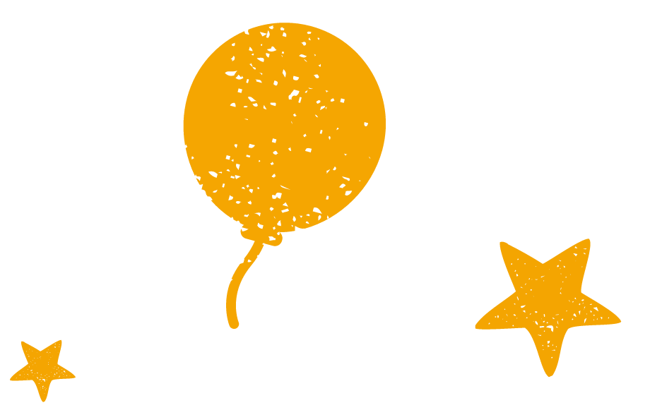 Balloons and Stars