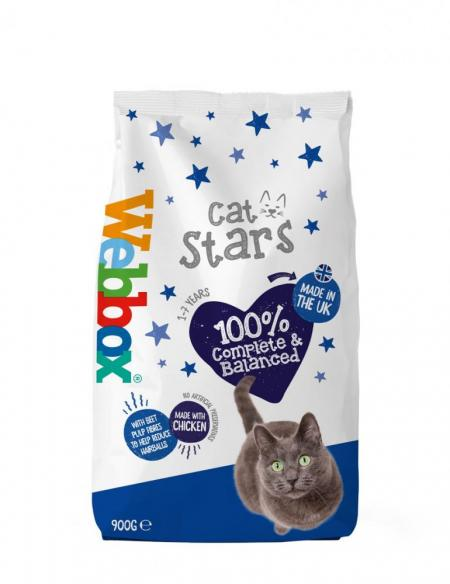 Webbox Cat Stars Chicken Dry Cat Food