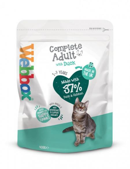 Webbox Cats Delight Chicken & Duck Dry Food