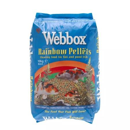Webbox Rainbow Pellets Fish Food