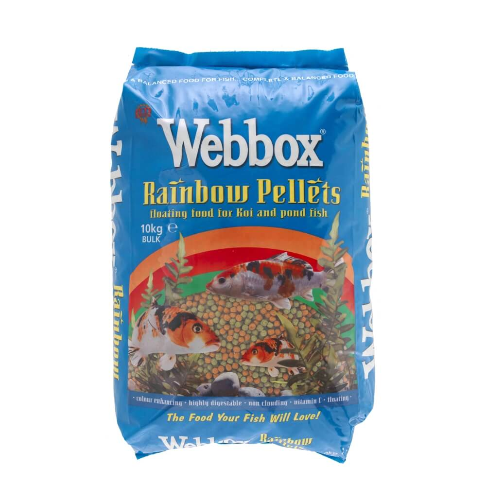 Webbox Rainbow Pellets Fish Food