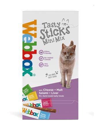 Webbox Tasty Sticks Mini Mix Cat Treats
