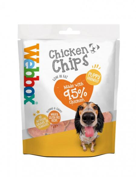 Webbox Chicken Chips Dog Treats
