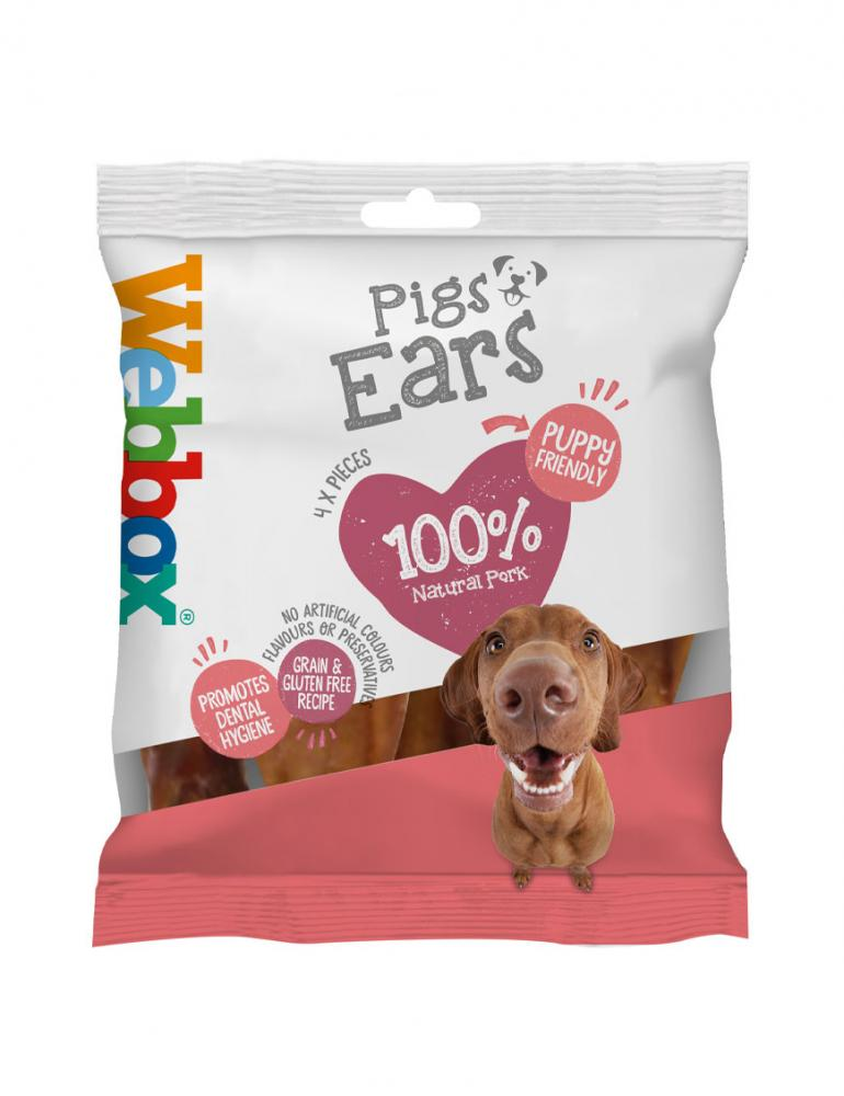 Webbox Meaty Pigs Ears Dog Treat