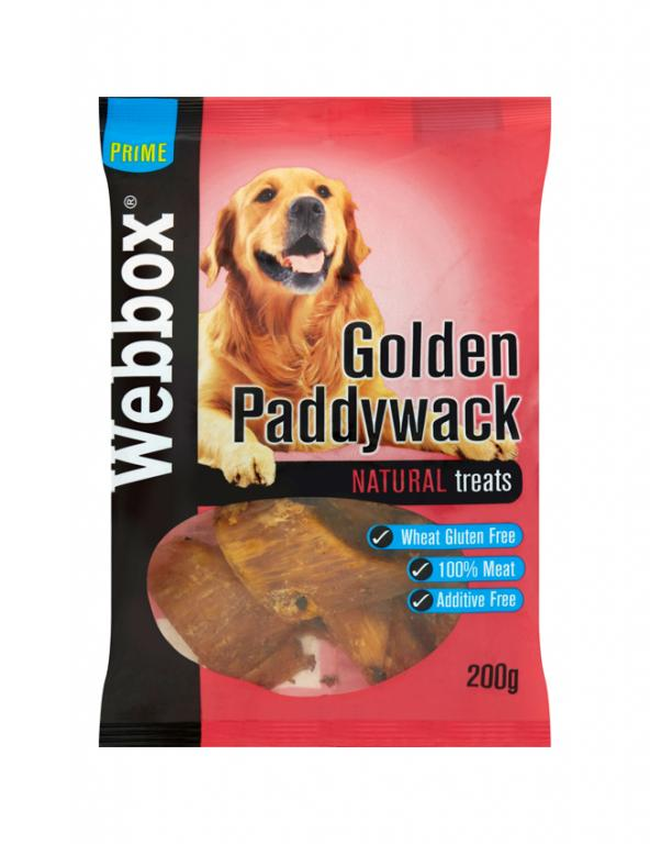 Webbox Meaty Golden Paddywack Dog Treats