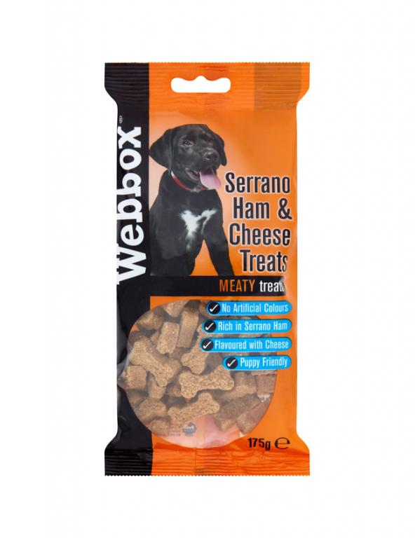 Webbox Meaty Serrano Ham & Cheese Dog Treats