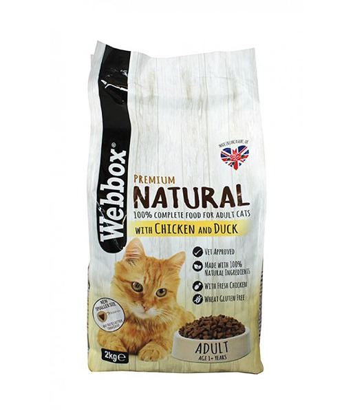 Webbox Naturals Chicken & Duck Dry Cat Food