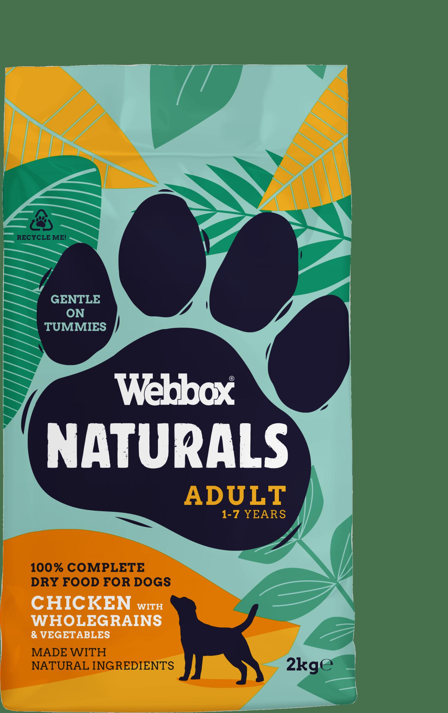 Webbox Naturals Chicken with Wholegrains Dry Dog Food