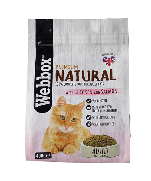 Webbox Natural Chicken & Salmon Dry Cat Food – Single