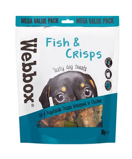Webbox Bulk Fish and Crisps Dog Treats