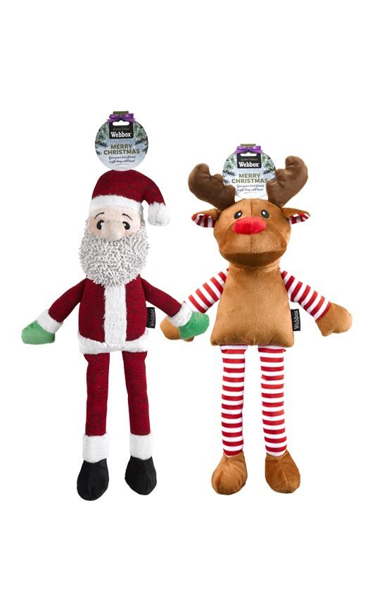 Webbox Festive Large Reindeer or Santa Assorted