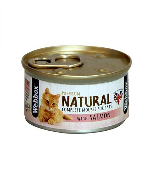 Webbox Natural Salmon Mousse Cat Food
