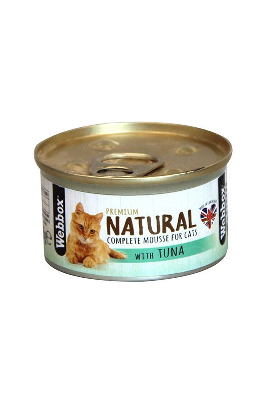 Webbox Natural Tuna Mousse Cat Food