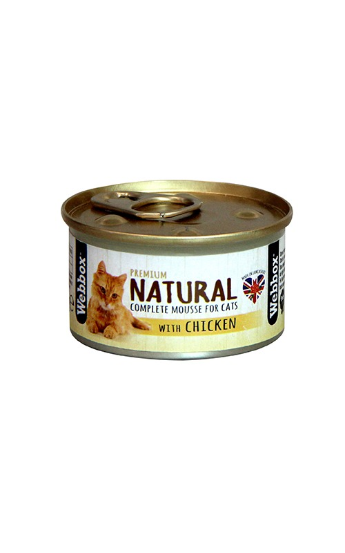 Webbox Natural Chicken Mousse Cat Food