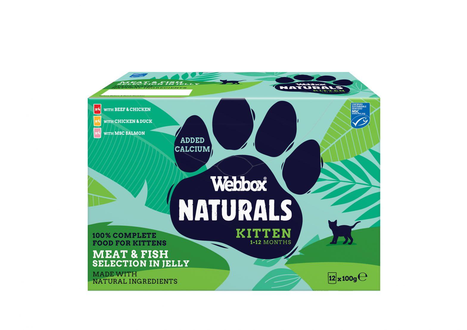 Webbox Naturals Kitten Selection Jelly Wet Cat Food