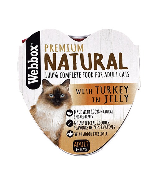 Webbox Natural Turkey in Jelly Wet Cat Food