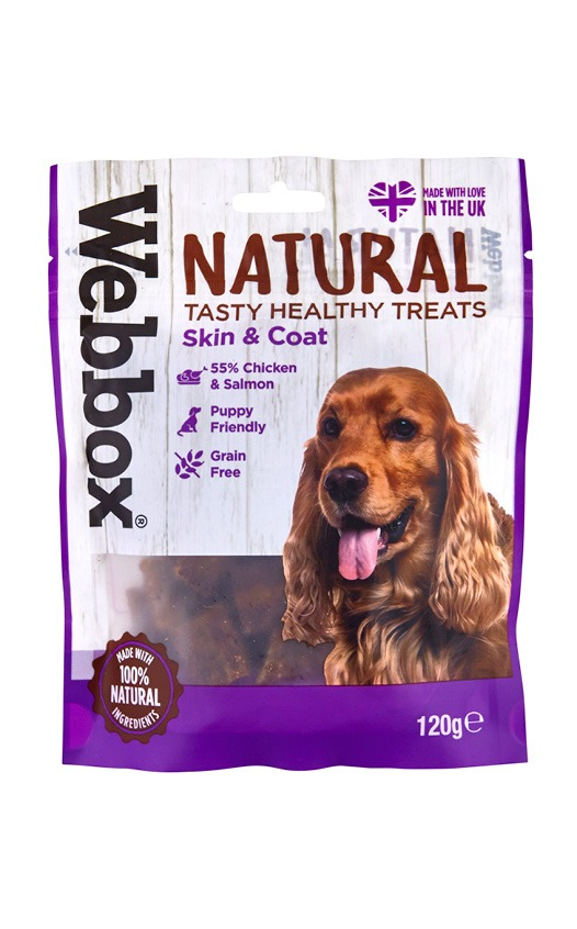 Webbox Natural Skin & Coat Dog Treats