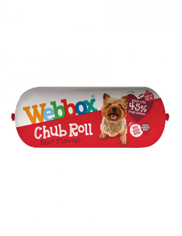 Webbox Mini Chub Roll Beef