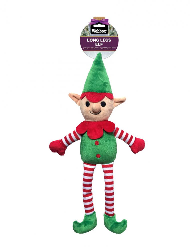 Webbox Festive Long Legs Elf
