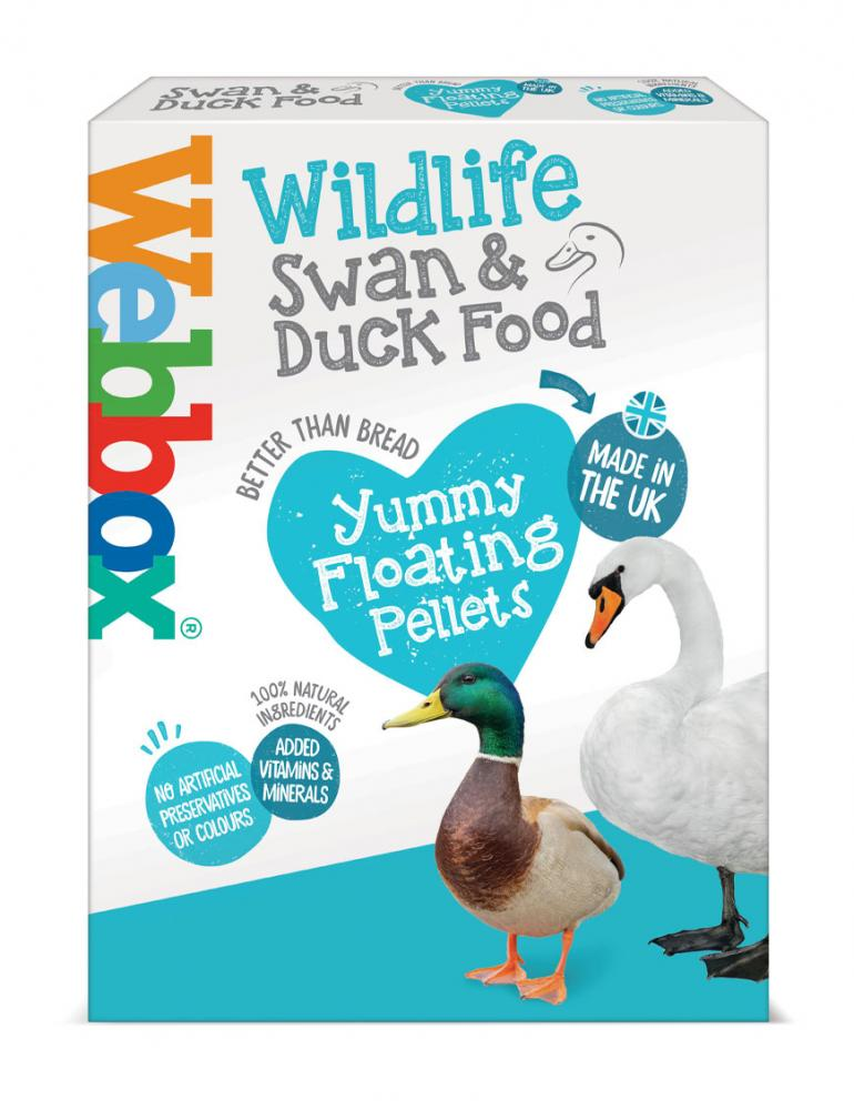 Webbox Wildlife Swan & Duck Food