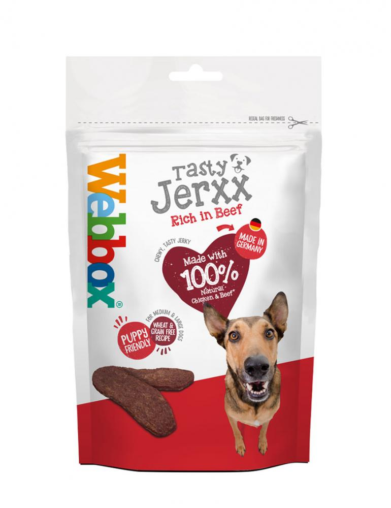 Webbox Mega Tasty Jerxx Beef Dog Treats