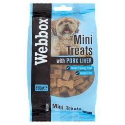 Webbox Mini Dog Treats with Pork Liver