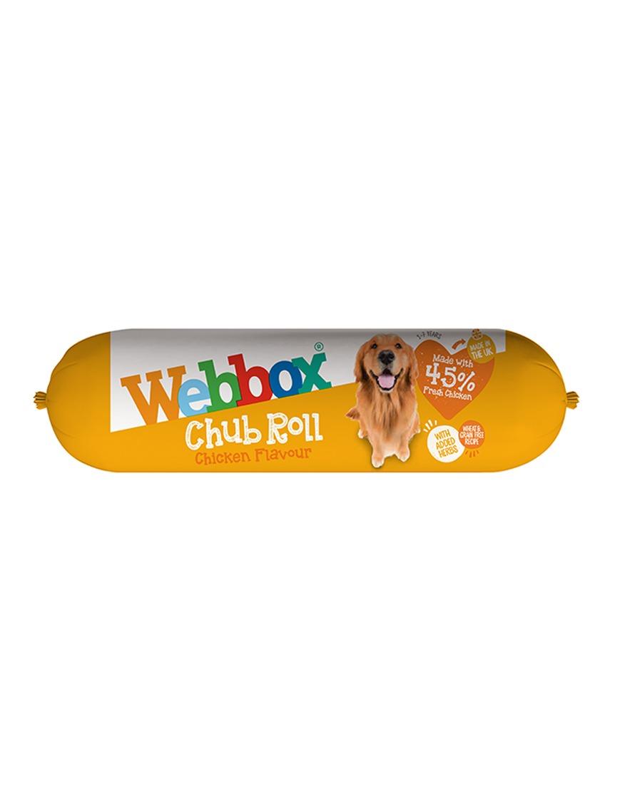 Webbox Chub Roll Chicken x 15