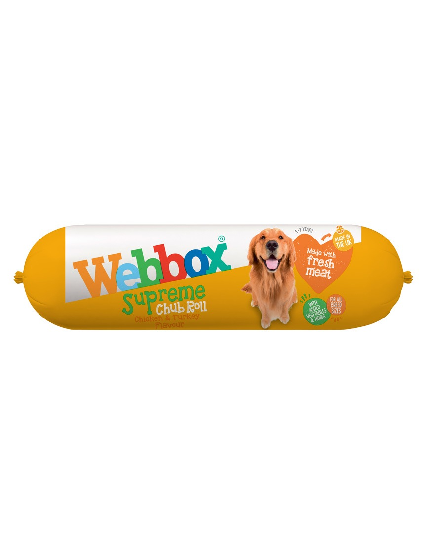 Webbox Chub Roll Supreme Chicken and Turkey