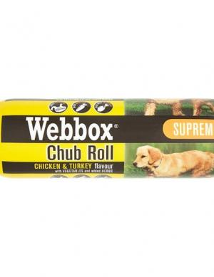 Webbox Chub Roll Supreme Chicken and Turkey