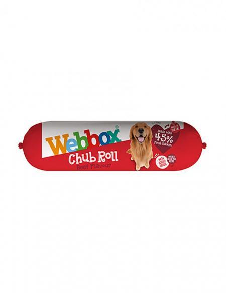 Webbox Beef Chub Roll