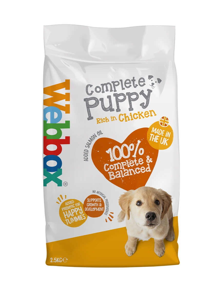 Webbox Everyday Chicken Complete Dry Puppy Food