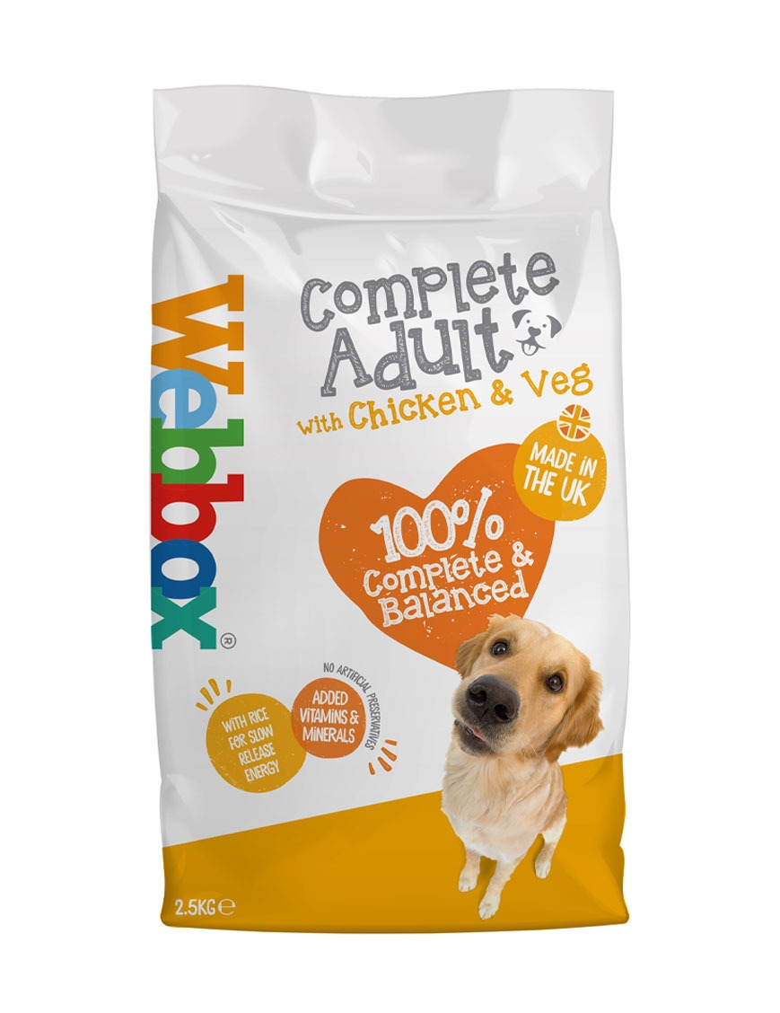 Webbox Everyday Chicken Complete Dry Dog