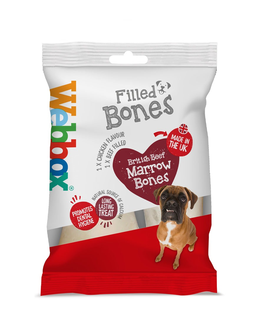 Webbox Filled Bones Dog Treats