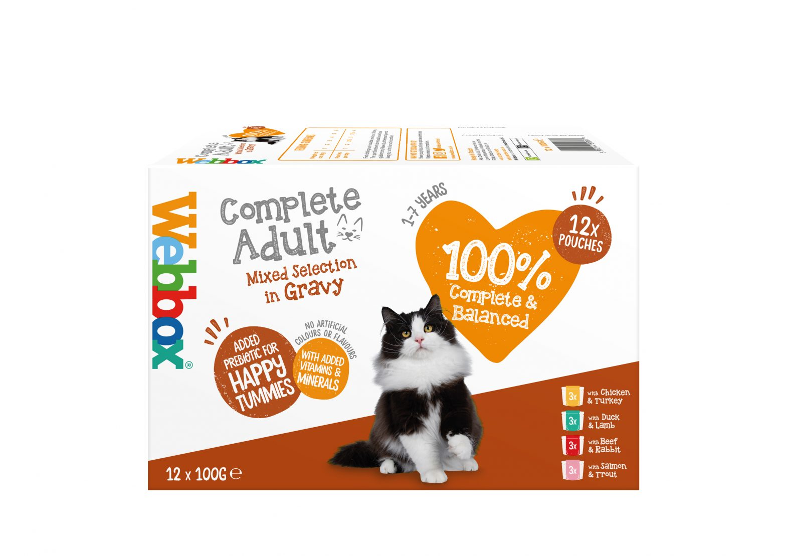 Webbox Complete Adult Mixed Selection in Gravy Wet Food