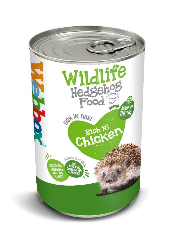 Webbox Wildlife Hedgehog Food 400g Can