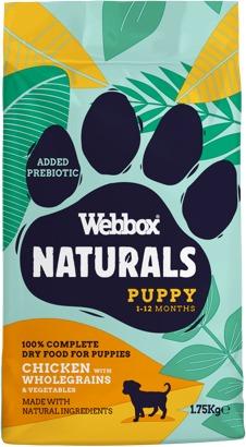Webbox Naturals Puppy Chicken Dry Food