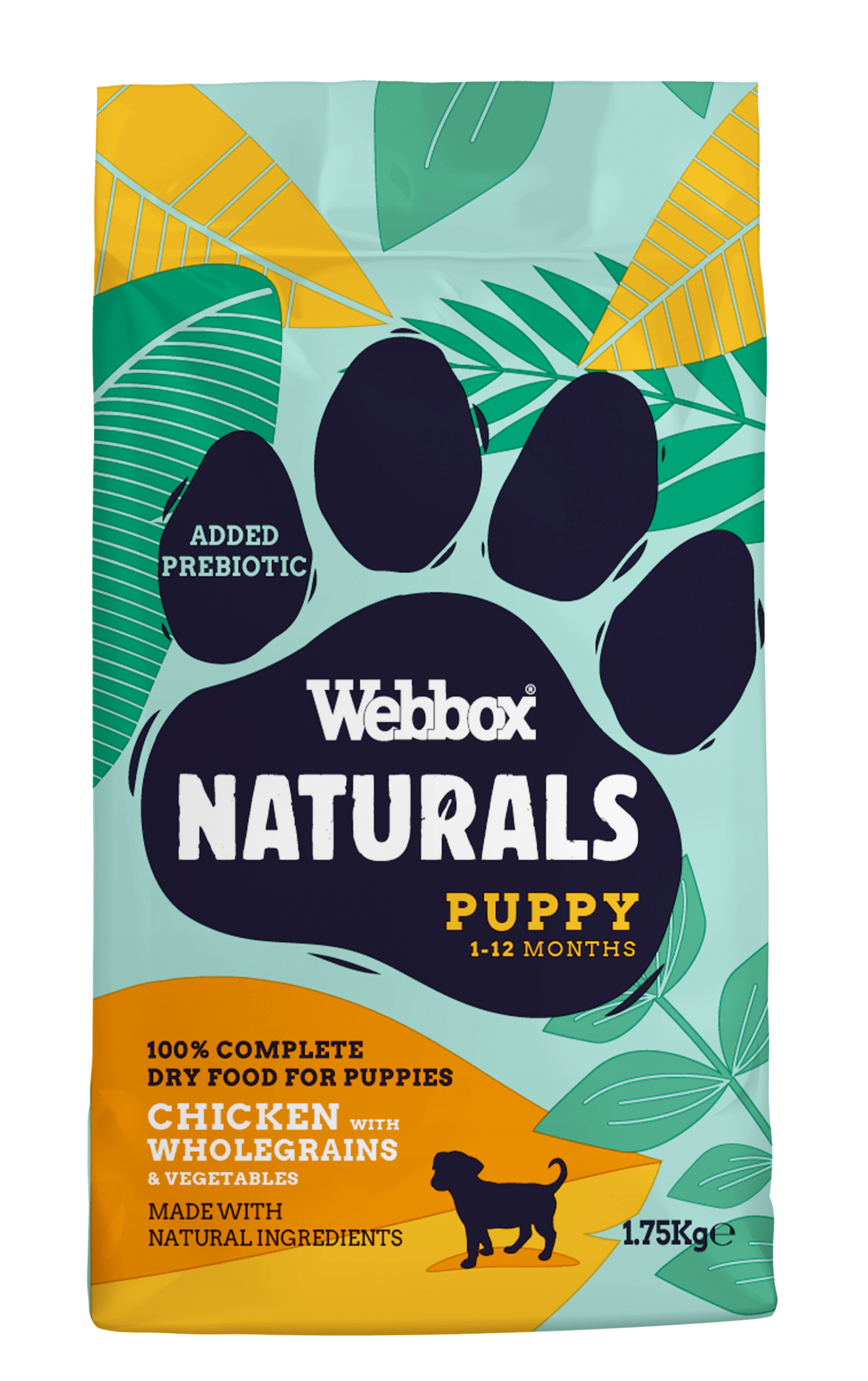 Webbox Naturals Puppy Chicken Dry Food