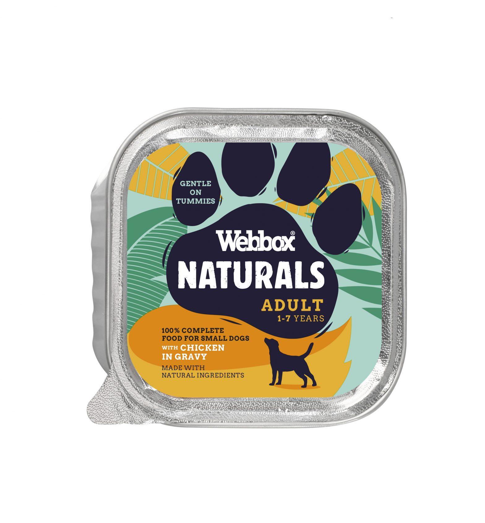Webbox Natural Adult Chicken in Gravy Wet Dog Food