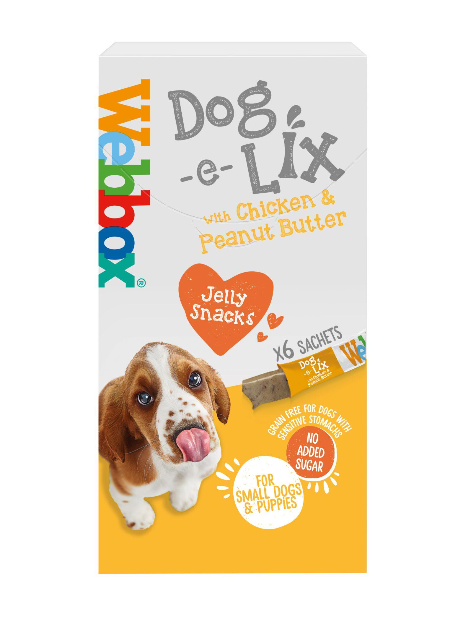 Webbox Dog e Lix with Chicken & Peanut Butter